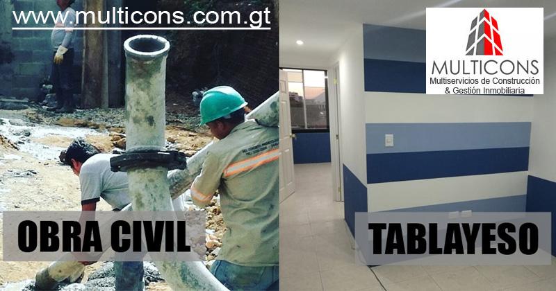 Obra Civil, Tablayeso Remodelaciones
